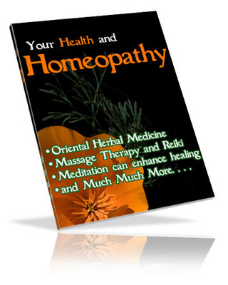 Product picture Homeopathy & Natural Healing Brandable eBook Resale Rights